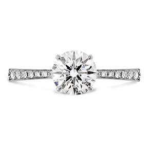 HOF Signature Engagement Ring-Diamond Band