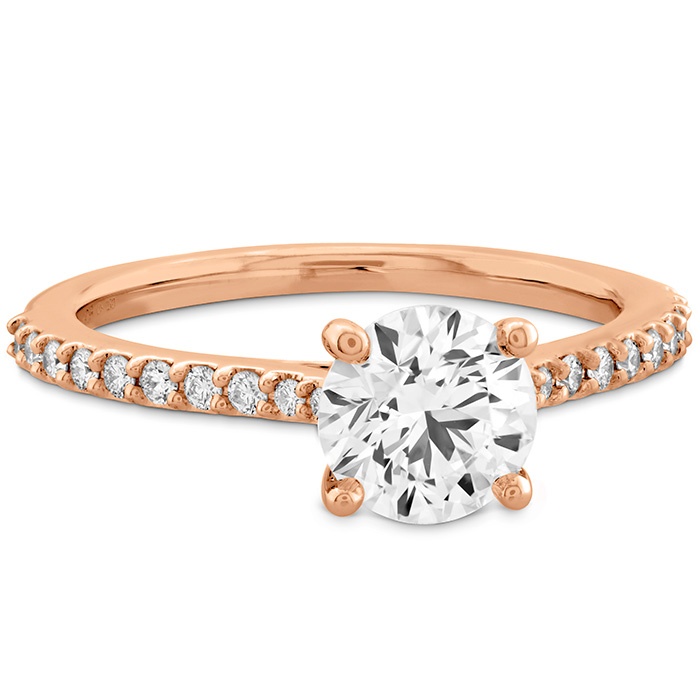 Camilla HOF Engagement Ring - Dia Band